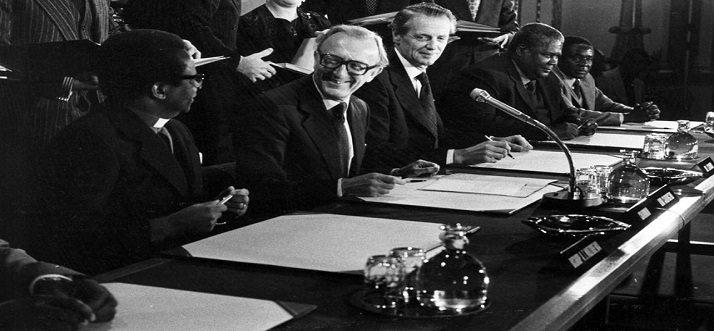 Lancaster House Agreement 1979 Devastating Disasters Zimbabwe lancaster house agreement